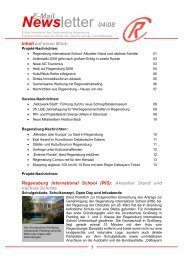 Newsletter April 2008 - Stadtmarketing Regensburg