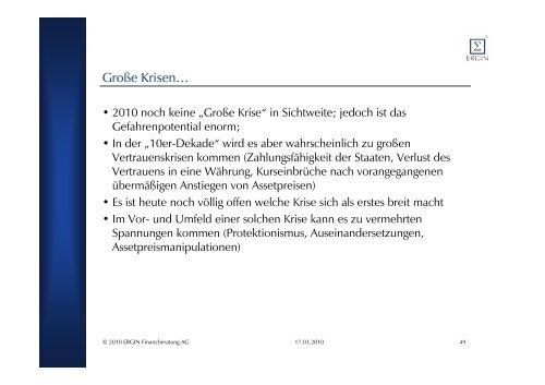 Präsentation - Ergin Finanzberatung