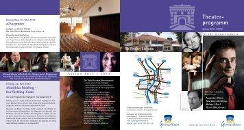 Theater- programm - Germersheim