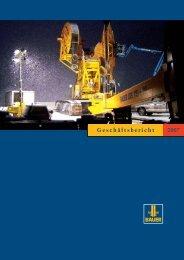 Geschäftsbericht 2007 - BAUER Gruppe
