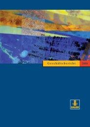 Geschäftsbericht 2008 - BAUER Gruppe