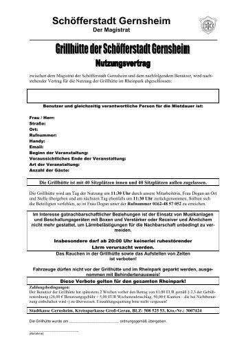 Sommer 01.04.-30.09.-Wochenende - in Gernsheim