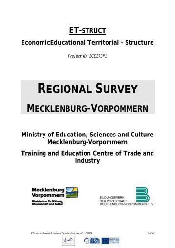 Mecklenburg-Vorpommern: Regional Survey on ... - Central Europe