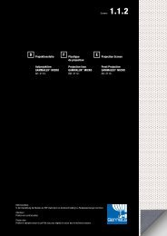 Projektionsfolie Aufprojektion GAMMALUX® MICRO Art ... - Gerriets