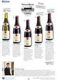 Rhône - Wein Wolf