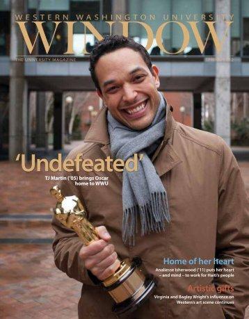 'Undefeated' - WINDOW - The magazine for WWU