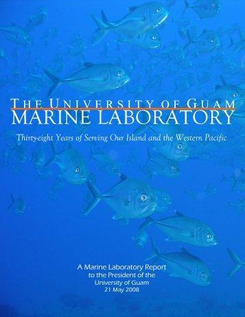 PROJECT DESCRIPTION - University of Guam Marine Laboratory