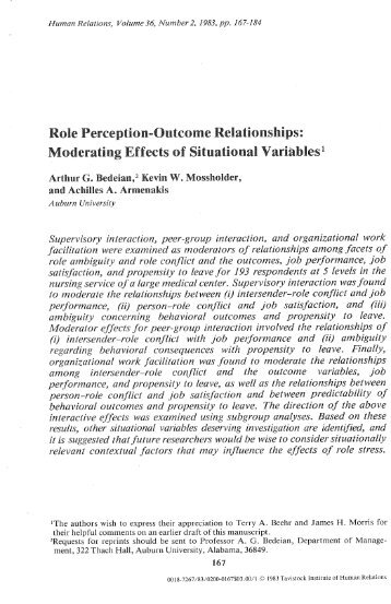perception relationship as to source and function