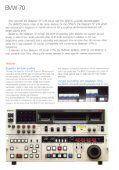 Sony BVW-70 Manual - Westside Media Group - Page 2
