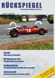Virtuell: VPP Werksteam Teil : Burkhard Maring ... - Virtual Racing eV