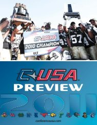 2011 C-USA FOOTBALL PROSPECTUS - Community - CBS Sports ...