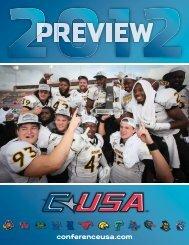 2012 c-usa football prospectus - Community - CBS Sports Network