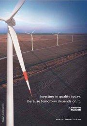 annual report 2008-09 - Suzlon
