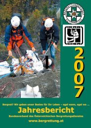 Jahresbericht Jahresbericht - Österreichischer Bergrettungsdienst