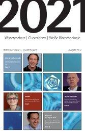 BIOKATALYSE2021-Clustermagazin 2021, Ausgabe 2