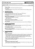EC safety data sheet edding Permanent Marker Refill ... - Gerstaecker - Page 2