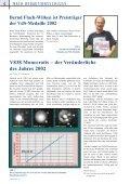 Nr. 10 2002 NY 40 Jugendarbeit Alpen-Meteorit VdS ... - VdS-Journal - Seite 6