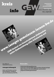 Aktuelle Termine - Gewerkschaft Erziehung und Wissenschaft ...