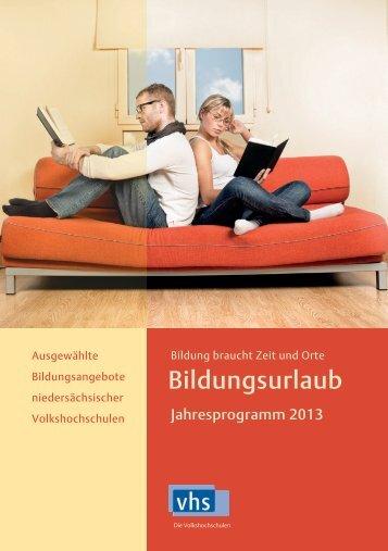 Bildungsurlaub - Volkshochschule Braunschweig