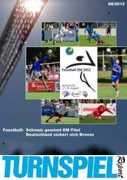 Faustball: Schweiz gewinnt EM-Titel Deutschland sichert sich ...