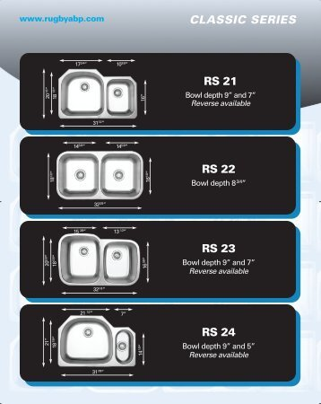 RS 22 RS 23 RS 24 RS 21 CLASSIC SERIES