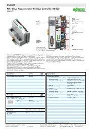 /Module Digitale und analoge I//O WAGO 753/ /440/Modul Digital und Analog I//O/
