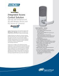 RS2 Integrated Access Control Solution Sheet with AD