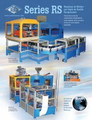 RS Series RS Brochure - Rocheleau Blow Molding Systems