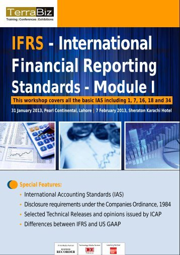 IFRS - International Financial Reporting Standards - Terra Biz