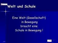 Welt und Schule - Gesamtschule Eiserfeld