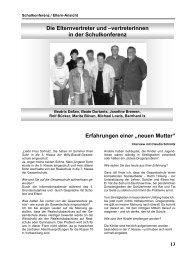 """Erfahrungen einer """"neuen Mutter"""" - Willy Brandt Gesamtschule ..."""