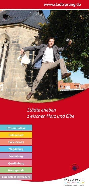 Städte erleben zwischen Harz und Elbe - Halberstadt