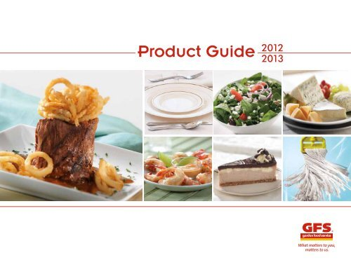 Product Guide - Gordon Food Service