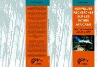 nouvelles recherches sur les rotins africains actes número 9 - INBAR