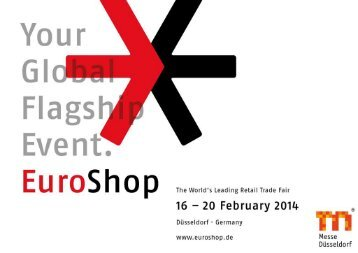 Präsentation EuroShop 2014 - Gesell & Co Messemarketing
