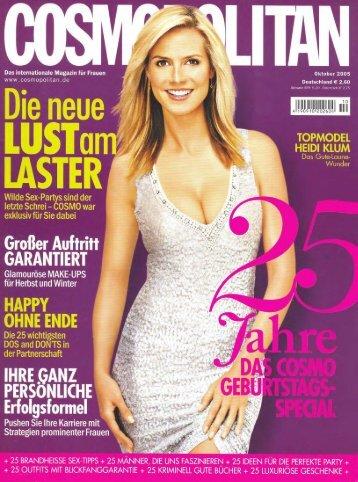 Cosmopolitan - Botox - Sophienklinik Stuttgart