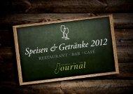 Speisekarte 2012 - Restaurant