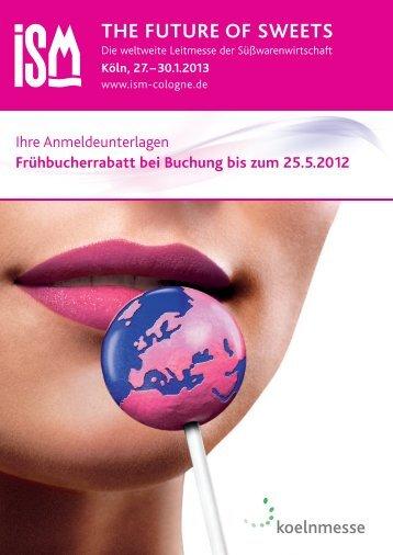 the future of sweets - Przedstawicielstwo Targów Koelnmesse w ...