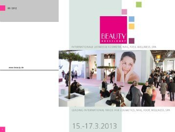 Präsentation BEAUTY 2013 - Gesell & Co Messemarketing