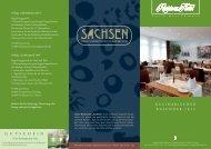 kulinarischen Kalender - Residenz Hotel Chemnitz