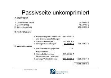 siehe pdf am Beispiel der Passivseite