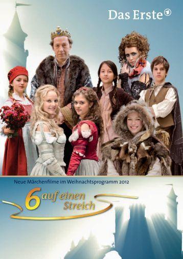 Neue Märchenfilme im Weihnachtsprogramm 2012 - beim rbb