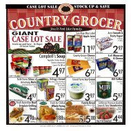 you 'll Feel Like Family. - Country Grocer