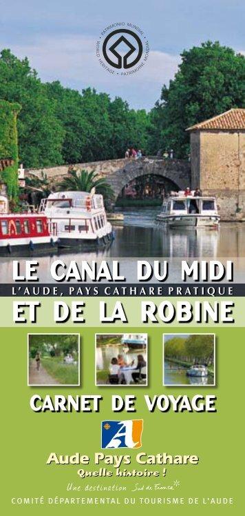 Le Canal du Midi et de la Robine - Audetourisme