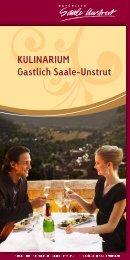 Kulinarium 2013.pdf - Saale-Unstrut-Tourismus e.V.