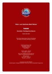 Preisliste für Hersteller: Rotkäppchen-Mumm - The Whisky Trader