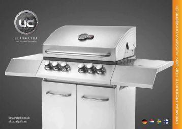 Ultra Chef Grill Katalog 2012 - Gardelino