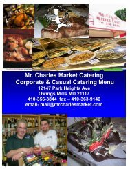 casual catering menu template.pub - Mr. Charles Market & Catering