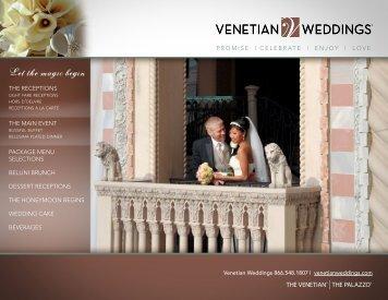 Let the magic begin - Venetian