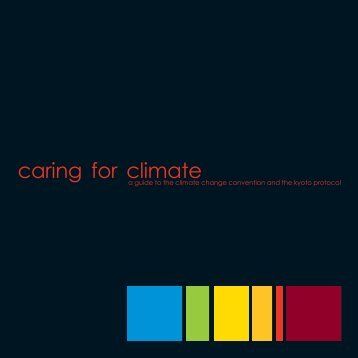 Caring for climate - United Nations Framework Convention on ...